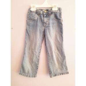 Girls lightwash circo jeans